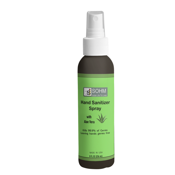 Aloe Vera Hand Sanitizer Spray